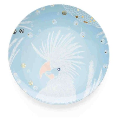 A Plate with a bird