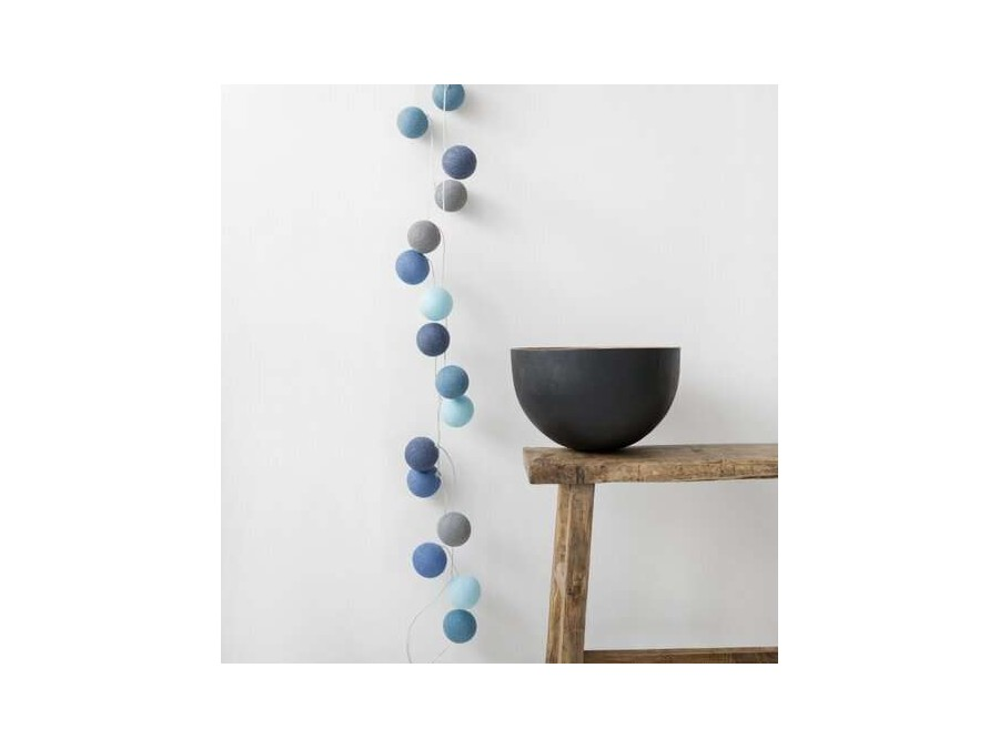 garland with colorful balls