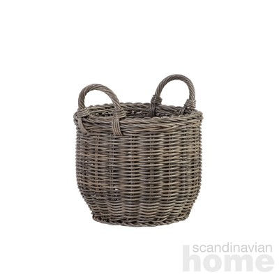 Basket WICKER with handles