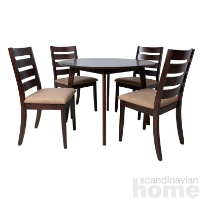 Dining set AMBER with 4-chairs