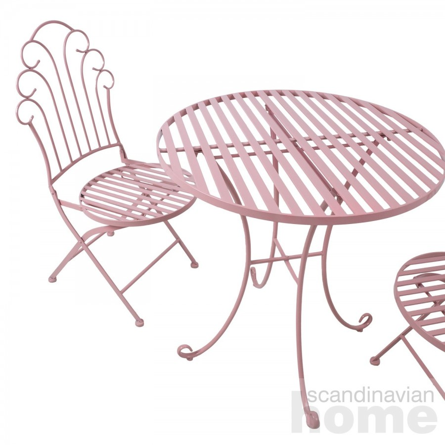 Balcony set ROSY table and 2 chairs