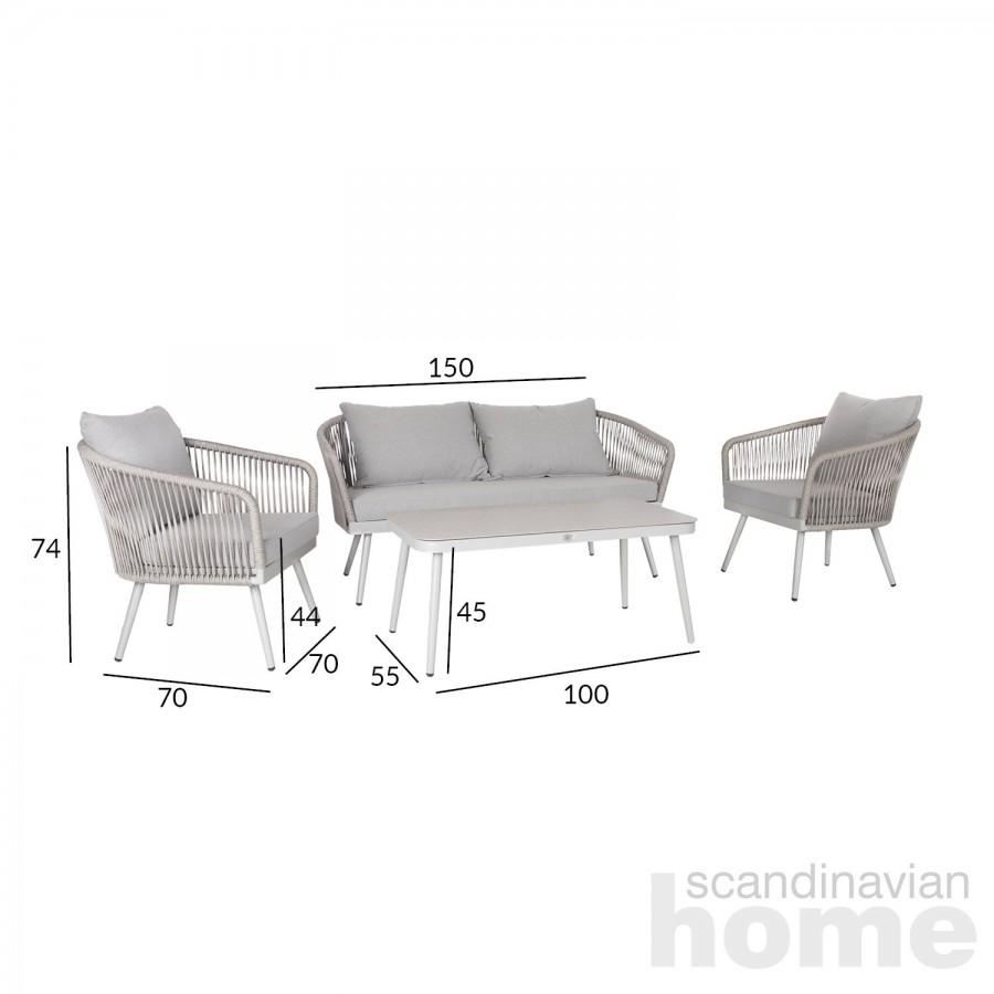 Garden furniture set ECCO