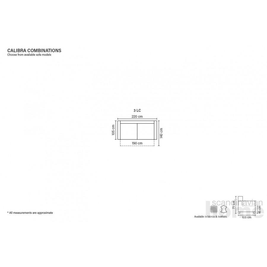 Calibra flat folding sofa